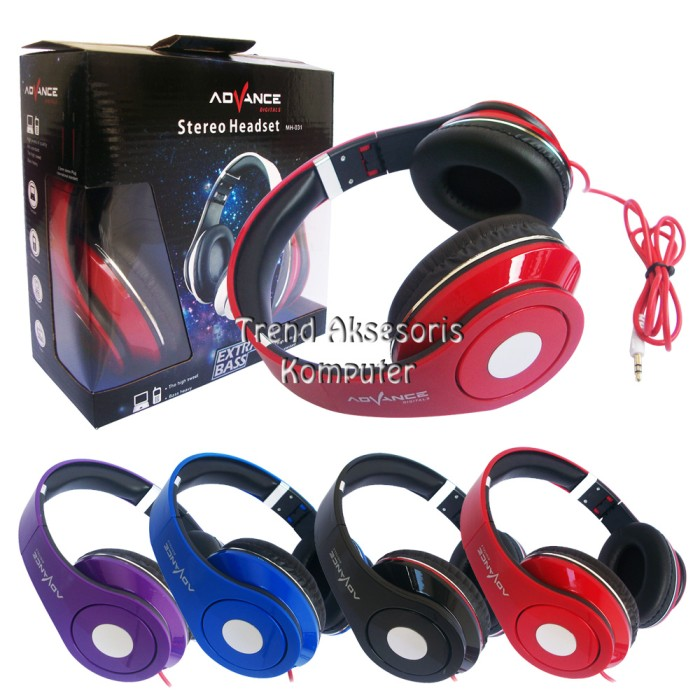Advance Stereo Headphone MH-031 Extra Bass