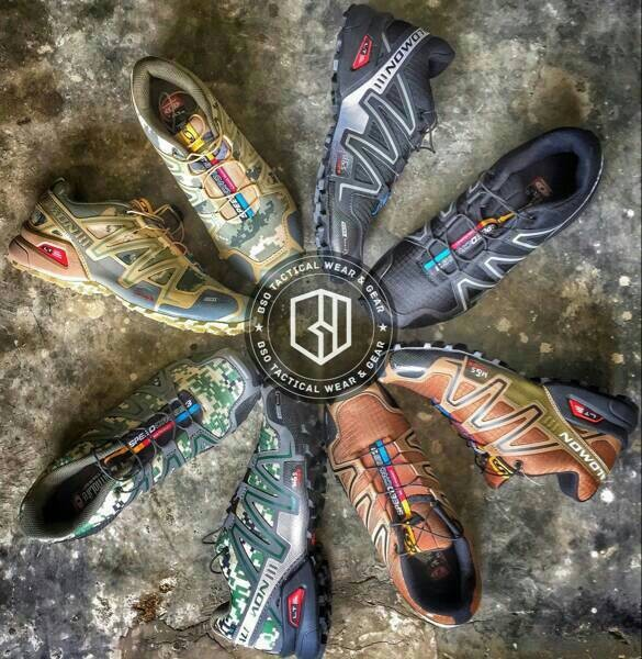 harga Sepatu salomon speedcross 3 gtx running tactical outdoor importvietnam Tokopedia.com