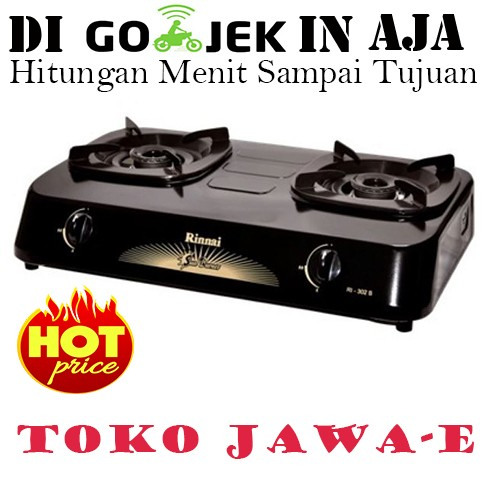 harga Rinnai ri-302s kompor gas 2 tungku sun burner (ukuran mini) Tokopedia.com
