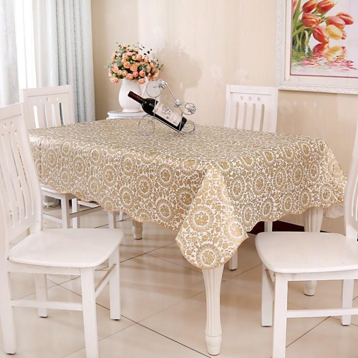 Taplak Meja Anti Air Table Cloth Alas Meja Makan Ukuran 137cm x 183cm