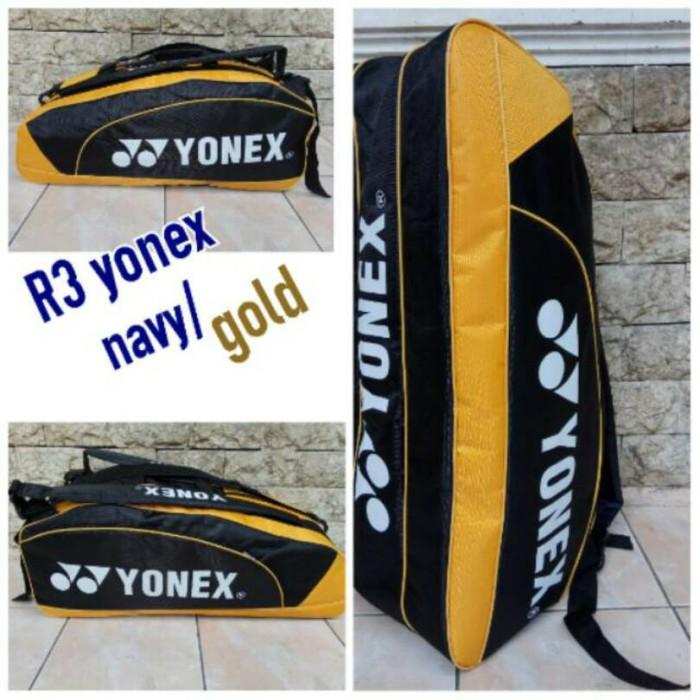harga Tas raket badminton r3 yonex new ada tempat sepatu Tokopedia.com