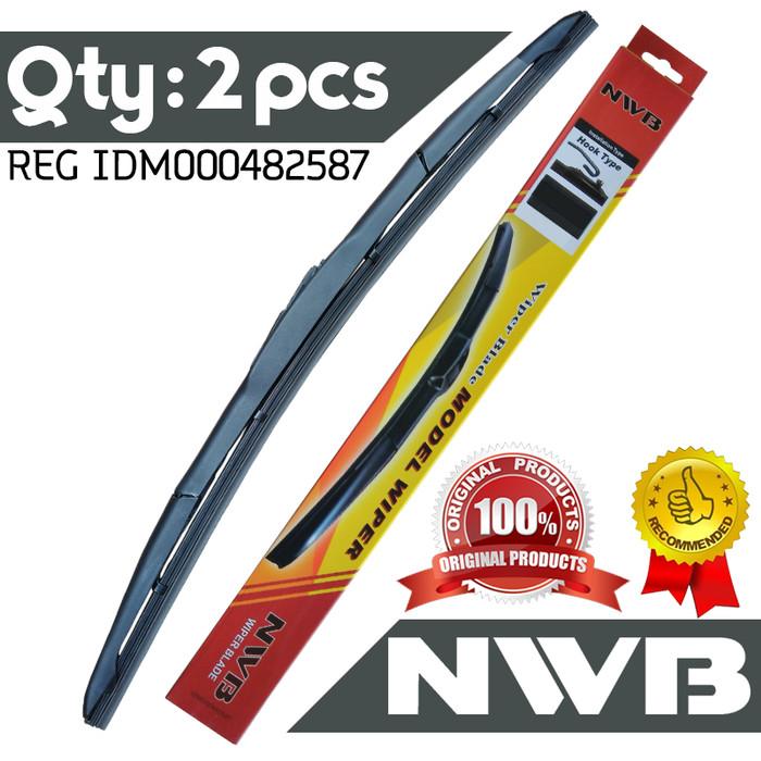 harga Wiper nwb suzuki baleno nex g (22  & 17 ) - hybrid Tokopedia.com