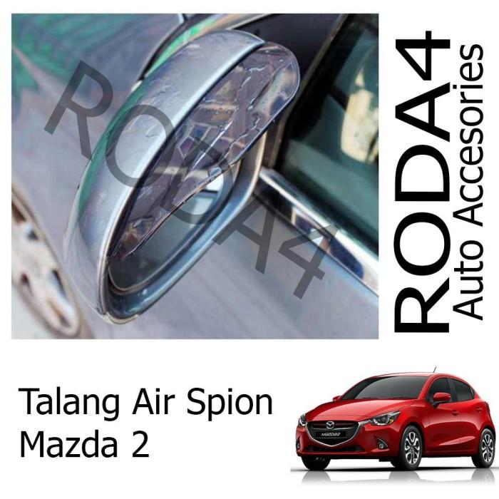 Aksesoris Mobil Terbaru..Talang Air Spion Mobil Mazda 2