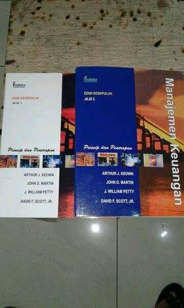 Manajemen keuangan edisi 10 (1set2buku) by arthur keown ...