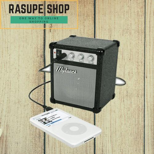 harga Paket myamp classic amplifier portable speaker + kabel remax 3.5mm Tokopedia.com