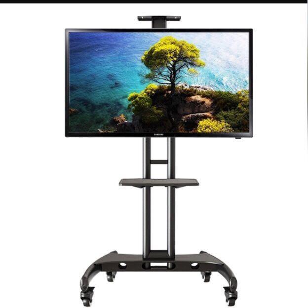harga North bayou ava1500-60-1p steel tv stand dengan roda Tokopedia.com