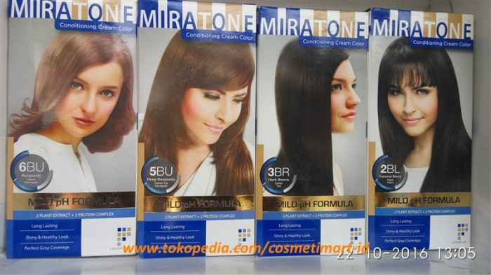 Jual Miratone Conditioning Cream Color - COSMETIMART ID  f9d23a3c4c