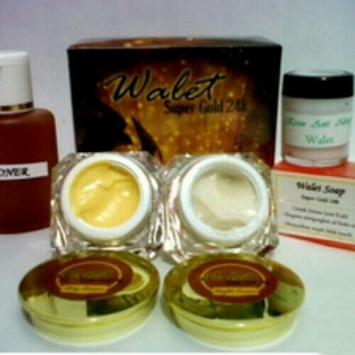 Cream walet super gold 24k + spf30 ORIGINAL