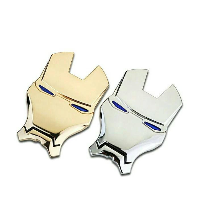harga Emblem metal iron man stiker 3d u/ aksesoris mobil dan motor Tokopedia.com