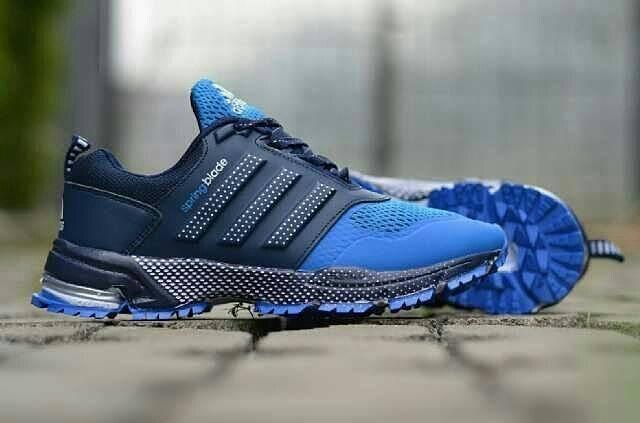 e6eab7817316 Jual sepatu pria adidas springblade marathon made in vietnam blue ...