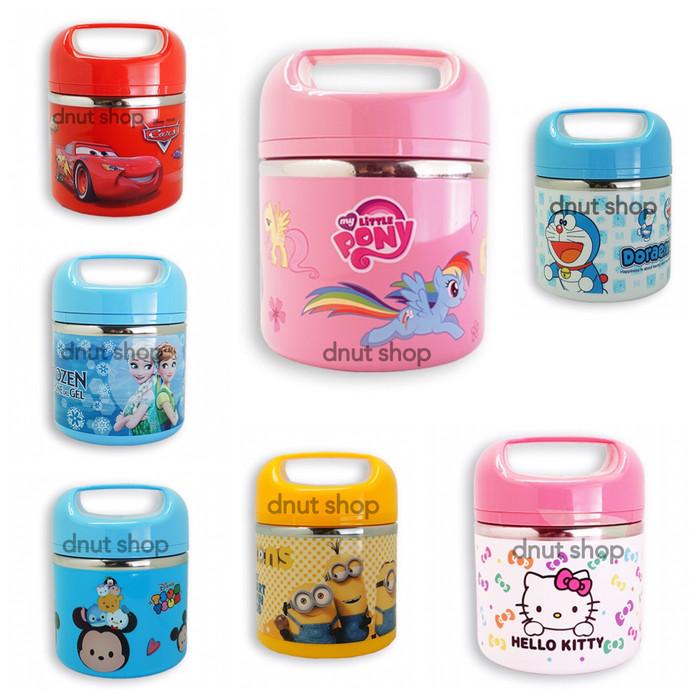 harga Tempat makan anak / lunch box ,tahan panas: little pony, frozen, minio Tokopedia.com