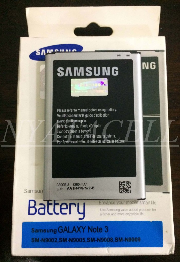 harga Baterai original 100% samsung galaxy note 3 /ori/batre/sein/n9002 Tokopedia.com