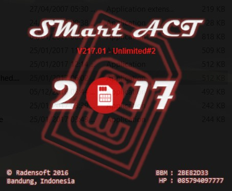 harga Smart act 2017 (software aktivasi kartu perdana) terbaru unlimited Tokopedia.com