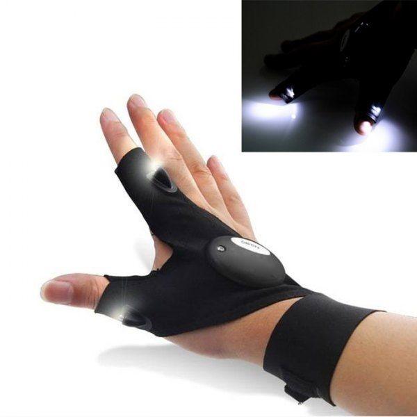 harga Sarung tangan pancing led glove lite mancing ikan malam cahaya lampu s Tokopedia.com