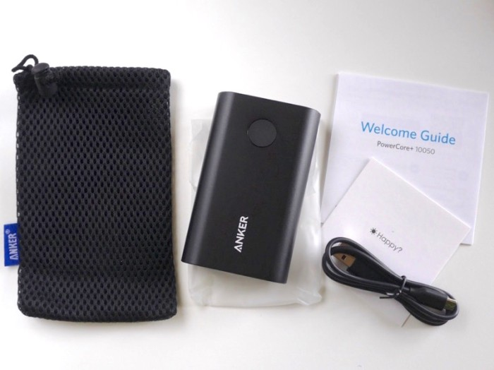 Anker powercore+ 10050(qualcomm quick charge 2.0) powerbank