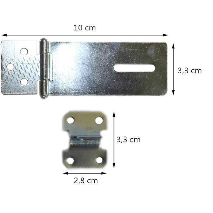EELIC KEG-3IF Kunci Engsel Gembok Terbuat Dari Bahan Metal