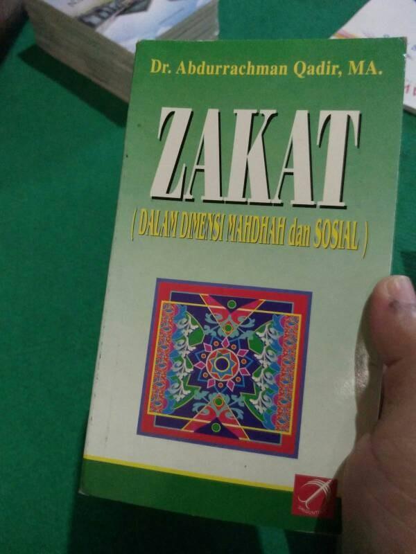 harga Zakat dalam.dimensi mahdhah dan sosial - abdurrahman qadir Tokopedia.com