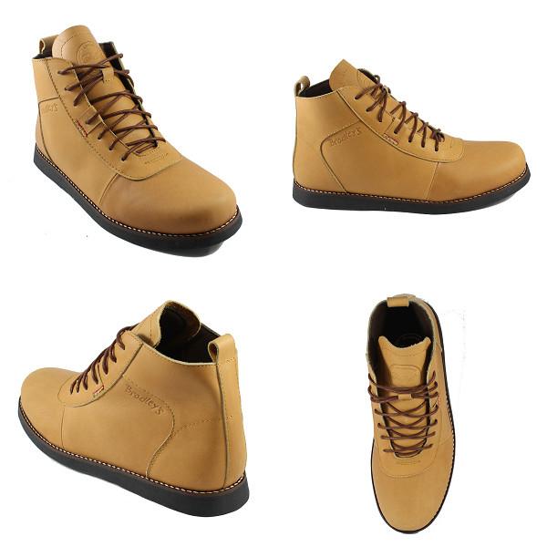 Jual Sepatu Pria Bradley s Brodo Tan Boots Kulit Asli Tracking ... 380602485e