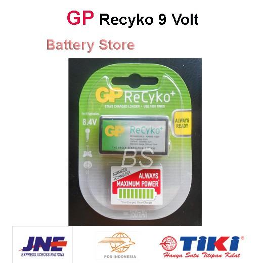 Baterai Kotak GP Recyko Rechargeable 9V