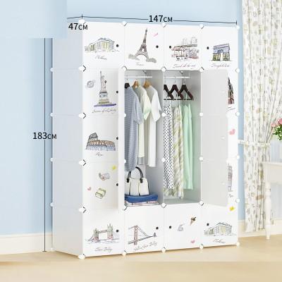 harga Lemari susun rak furniture baju pakaian buku anti air paris vintage Tokopedia.com