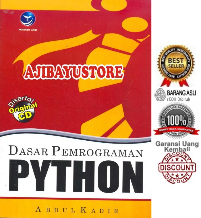harga Dasar pemrograman python abdul kadir andi Tokopedia.com