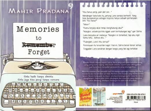 harga Memories to forget Tokopedia.com
