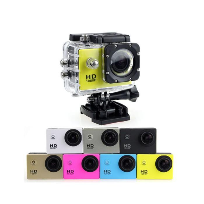 Foto Produk Sports Cam Full HD DV 1080P Waterproof Action Camera/ Kogan dari M2M-Store