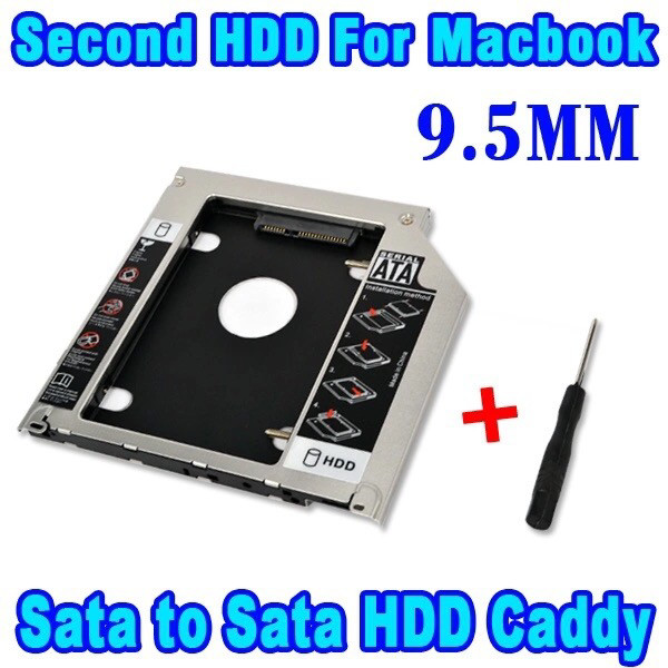 harga Caddy hdd enclosure for macbook pro unibody 13  15  17  superdrive Tokopedia.com