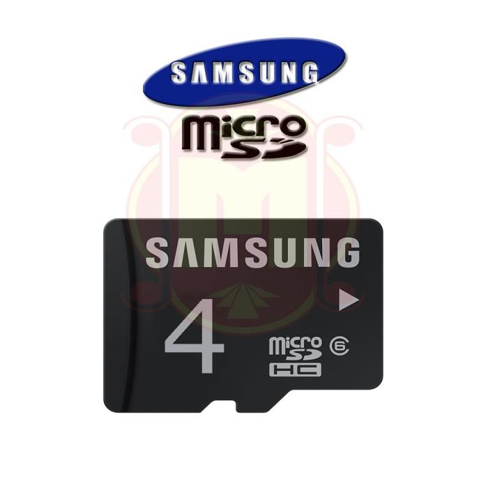 Jual Anp Micro SD Samsung 4GB Class 6 Kartu Memori Memory Card Samsung -  DKI Jakarta - Wiaya Shop   Tokopedia