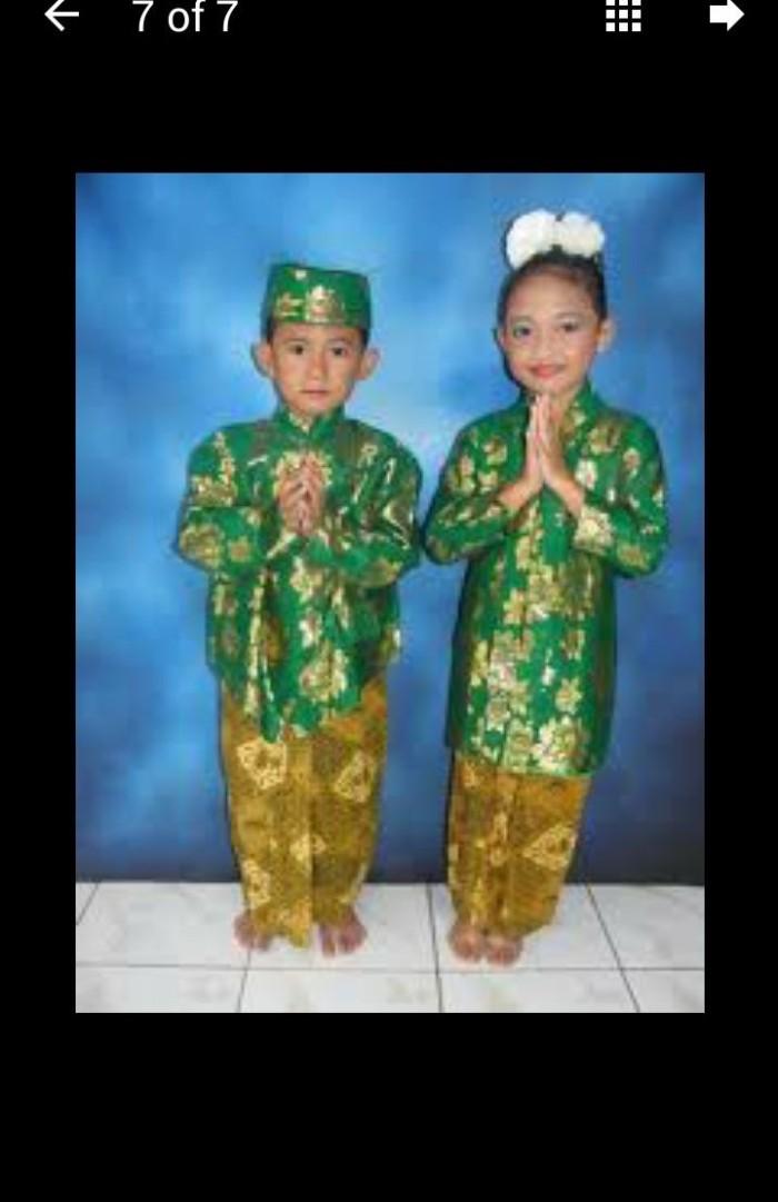 Jual Baju Adat Jawa Tengah Anak Jateng Pakaian Adat Jawa Tengah Jakarta Barat Ratu Budaya Tokopedia