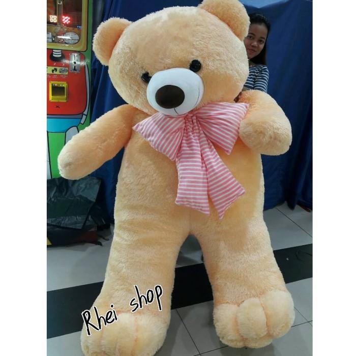Jual boneka teddy bear super besar 2meter - Rhei shop  703111ba4a