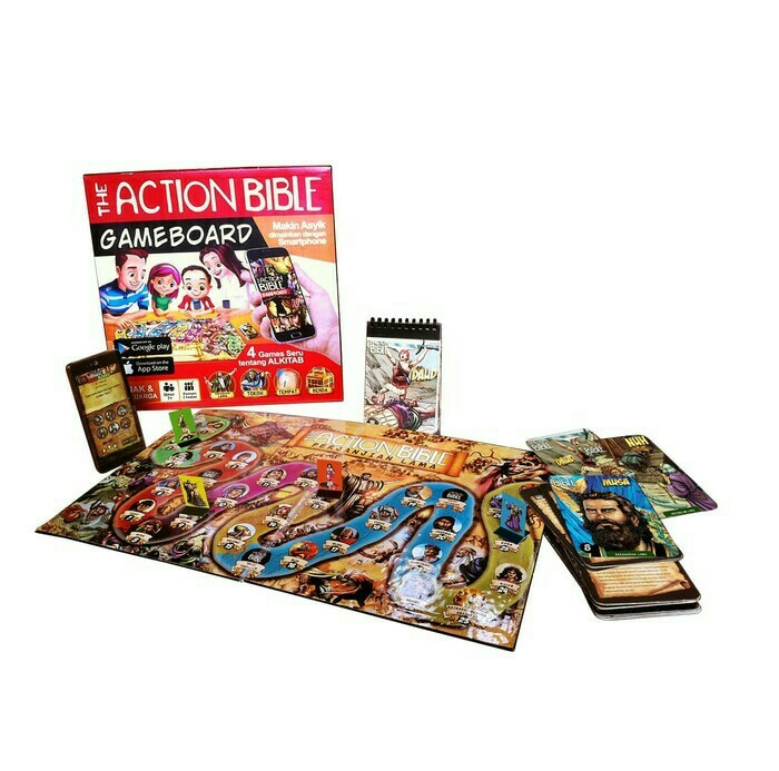 harga Games alkitab - the action bible gameboard Tokopedia.com