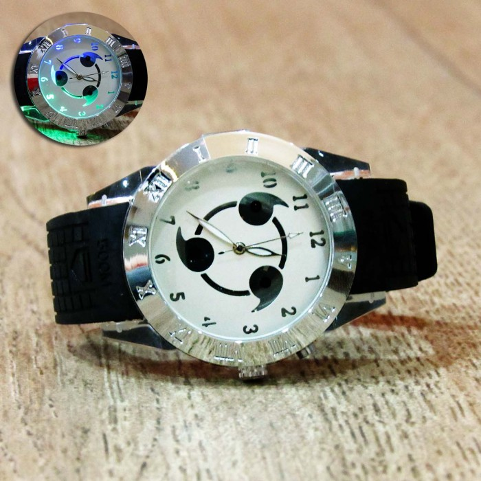 harga Jam tangan backlight sharingan kakashi naruto Tokopedia.com