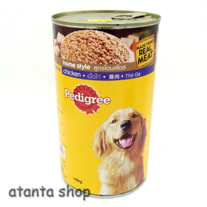 harga Pedigree chicken kaleng 1.15kg kornet anjing Tokopedia.com