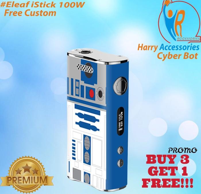 Jual [Promo] Garskin Vapor ELEAF I STICK 100W -Cyber Bot- Free Custom -  Kota Yogyakarta - Harry Accessories | Tokopedia