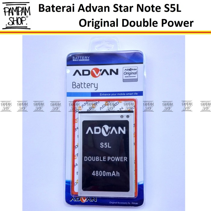 harga Baterai handphone advan star note s5l original double power | batre Tokopedia.com