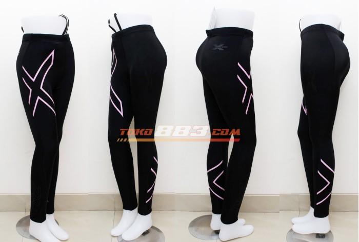 harga 2xu women joggers compression fitness tight running clothes breathable Tokopedia.com