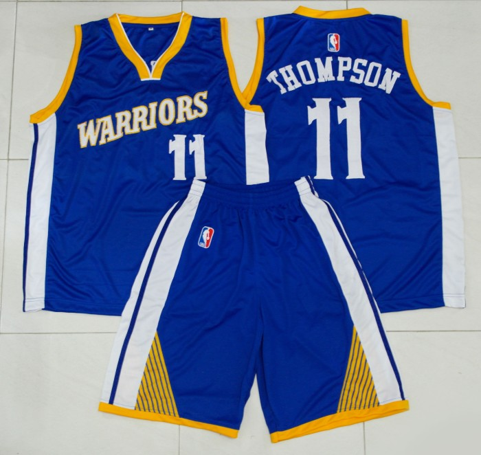 reputable site 3be56 ed023 Jual Jersey Basket Tim NBA Golden State Warriors (blue/away V2) - Kota  Surabaya - Lapak Basket | Tokopedia