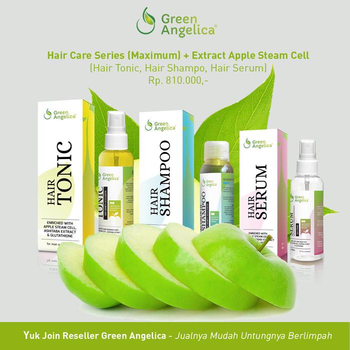 paket penumbuh rambut herbal alami green angelica. obat kebotakan aman 765a52c996