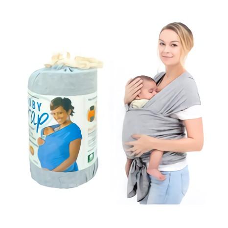 Jual Gendongan Bayi Moby Wrap Grey Gendongan Kangguru Baby