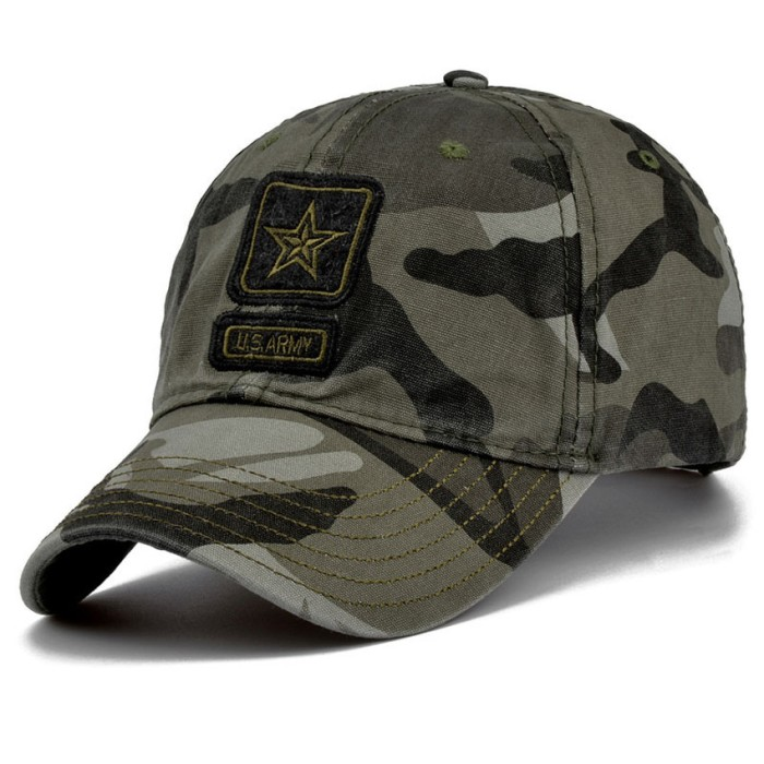 Jual Topi Pria Ormano Fashion Snapback Star US Army - Hijau loreng ... e6a481ac15