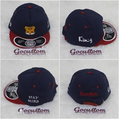 Jual Topi Snapback Custom Bordir   Snapback Cap   Hiphop Cap 4 SISI ... 14830d4f36