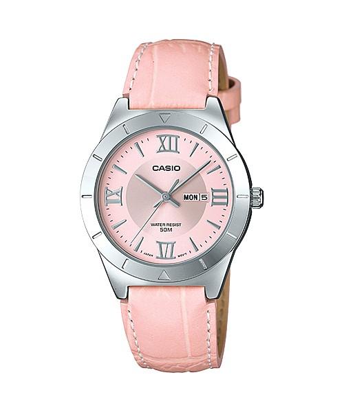 harga Casio analaog jam tangan wanita kulit pink ltp-1410l-4a original Tokopedia.com