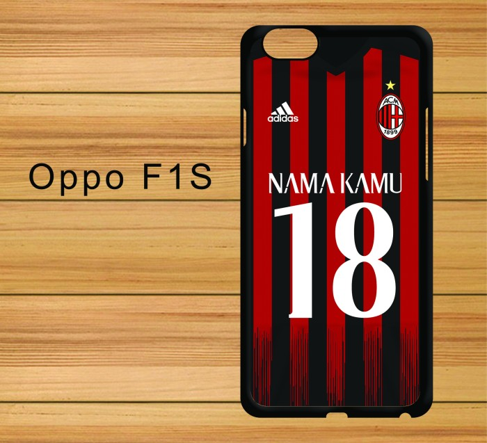 harga Custom name jersey ac milan away oppo f1s Tokopedia.com