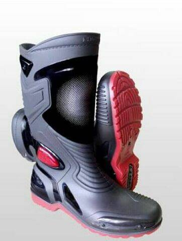 Jual Anp Sepatu touring cross trail balap drag Anti Air AP BOOTS ... 96cd3d4705