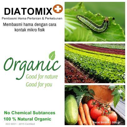 Jual Diatomix Diatomaceous Earth Pembasmi Hama Perkebunan