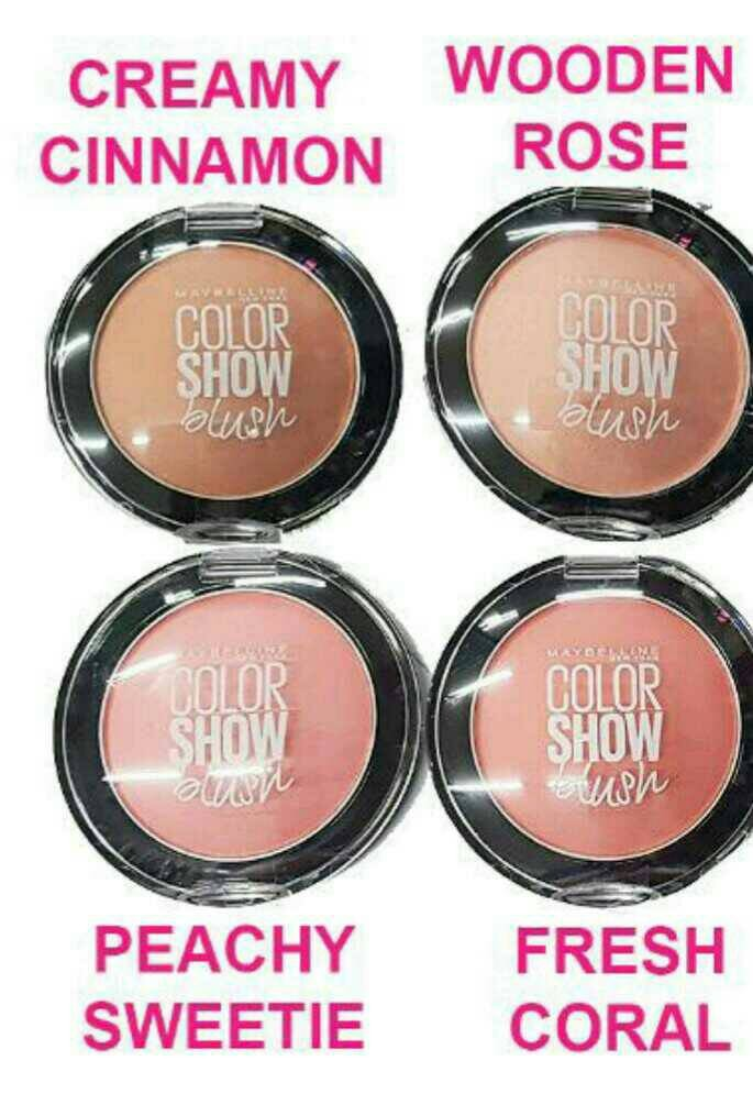 Maybelline blush on color show /cheeky glow