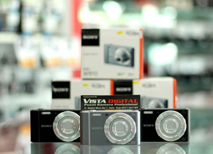 harga Sony cybershot dsc-w810 kamera digital / pocket garansi resmi 1 tahun Tokopedia.com