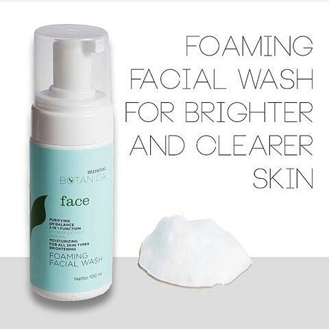 Image result for Brightening Foaming Facial Wash