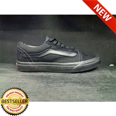 Jual (NEW) Sepatu Vans old School Hitam Polos Pria Murah Import ... 78115d86f9